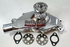 Big Block Chevy Polished Aluminum Short Water Pump Chevrolet Swp Bbc 396 427 454