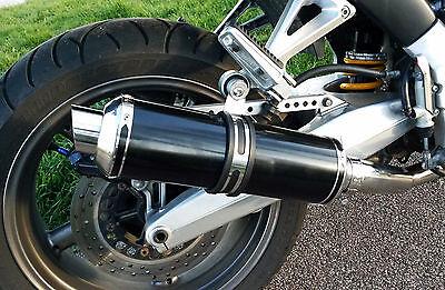 Yamaha BT1100 Bulldog Demon Slash Satin Black Round XLS Exhausts