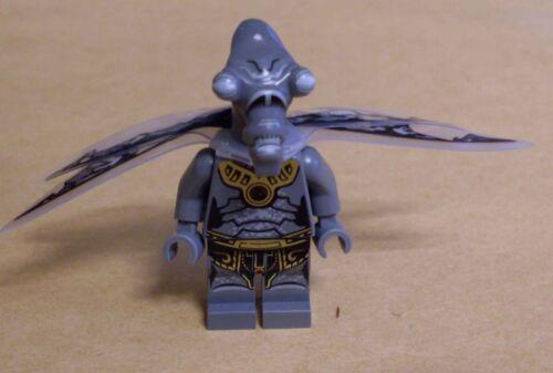 LEGO star wars GEONOSIAN zombie 9491 personnage avec des ailes genosianer Gris Nouveau