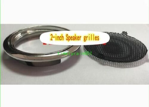 "1pcs 2/""inch 66mm speaker grill decoration circle Home Audio protection Net cover"