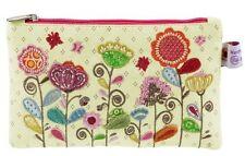 Wendekreis Kosmetiktasche Geldbörse Stofftäschchen Blumenwiese 11 x 18  neu
