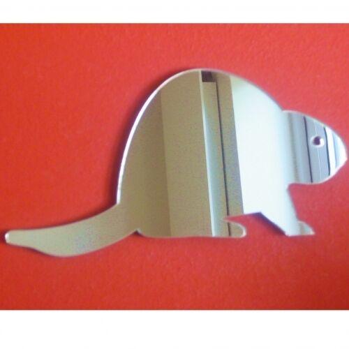 Beaver Acrylique Miroir (plusieurs tailles disponibles)