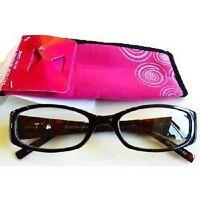 Foster Grant Magnivision Dark Magenta Glasses (m39) Choose Your Strength