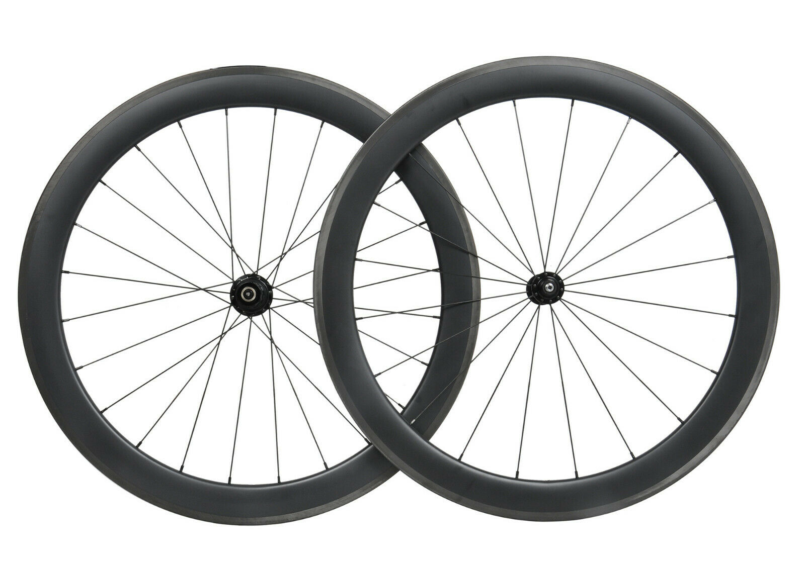Carbon wheels clincher 55mm matt road  bicycle wheelset 700C Tubeless race rim  best quality best price