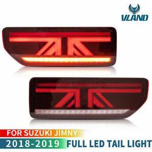 Retro-eclairage-LED-rouge-Pour-Suzuki-Jimny-2018-2019-sequentiel-feux-arriere