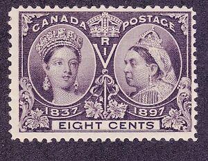 Canada-56-MNH-OG-1897-8c-Jubilee-Issue-Very-Fine-325-00-F-VF-Fresh