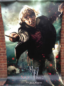 Cinema Poster Harry Potter The Deathly Hallows Part 2 2011 Ron Ebay