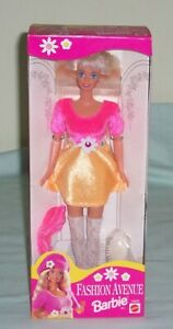 Barbie-Fashion-Avenue-Doll-15833-Mattel-Toy-c1995-Boxed-Unopened