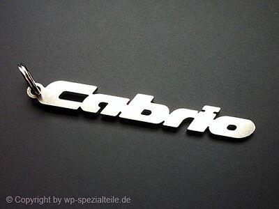 VW Golf 1 Cabrio Schlüsselanhänger 3 4 16V G60 VR6 TDI R32 GTI Cabriolet Emblem