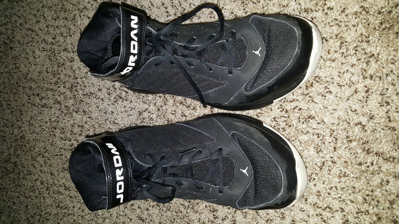 Nike JORDAN BCT MID 3 684829-010 RETRO SHADOW MENS BASKETBALL FLIGHT 45 BLACK BU