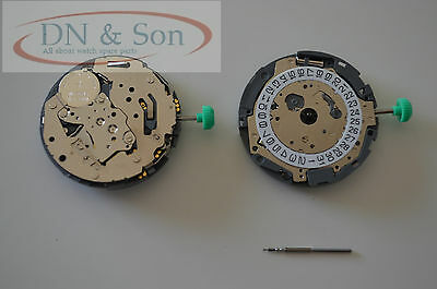 MIYOTA OS11 QUARTZ Watch Movement with stem date at 3' NEW