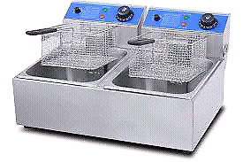Chips Fryer for Sale R1350 Double Electric