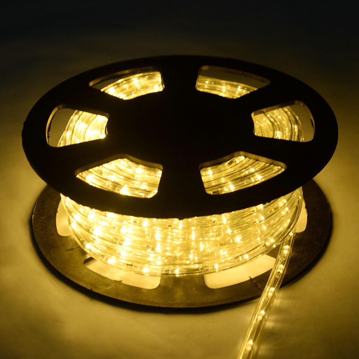 LED Lichterschlauch Lichterkette Lichtschlauch Lichtleiste 10 20 30M Innen Außen  | Guter weltweiter Ruf