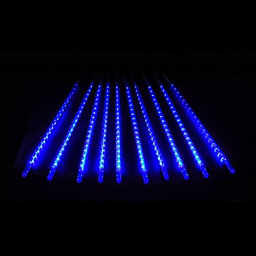 240-720 LED Solar Lights Meteor Shower Rain Tree String Garden Party Outdoor