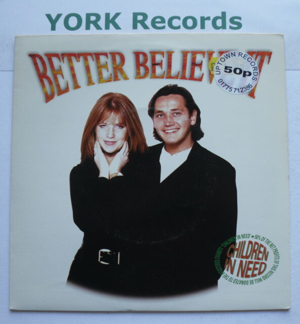 "SID OWEN & PATSY PALMER - Better Believe It - Ex Con 7"" Single Trinity TDM 001V"