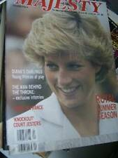 Majesty Magazine V8 #4 Diana & Sons, Sarah & Andrew In France, Anne, Alton Tower