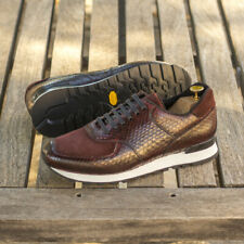 The Python Sneaker Model 4832 from Robert August w/ Shoe Trees Included