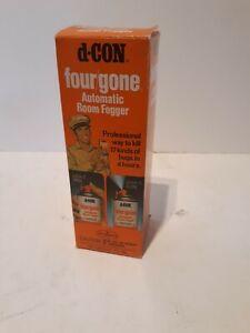 Vintage-D-Con-Four-Gone-Automatic-Room-Fogger-Pest-Control-Unused-NOS-NIB