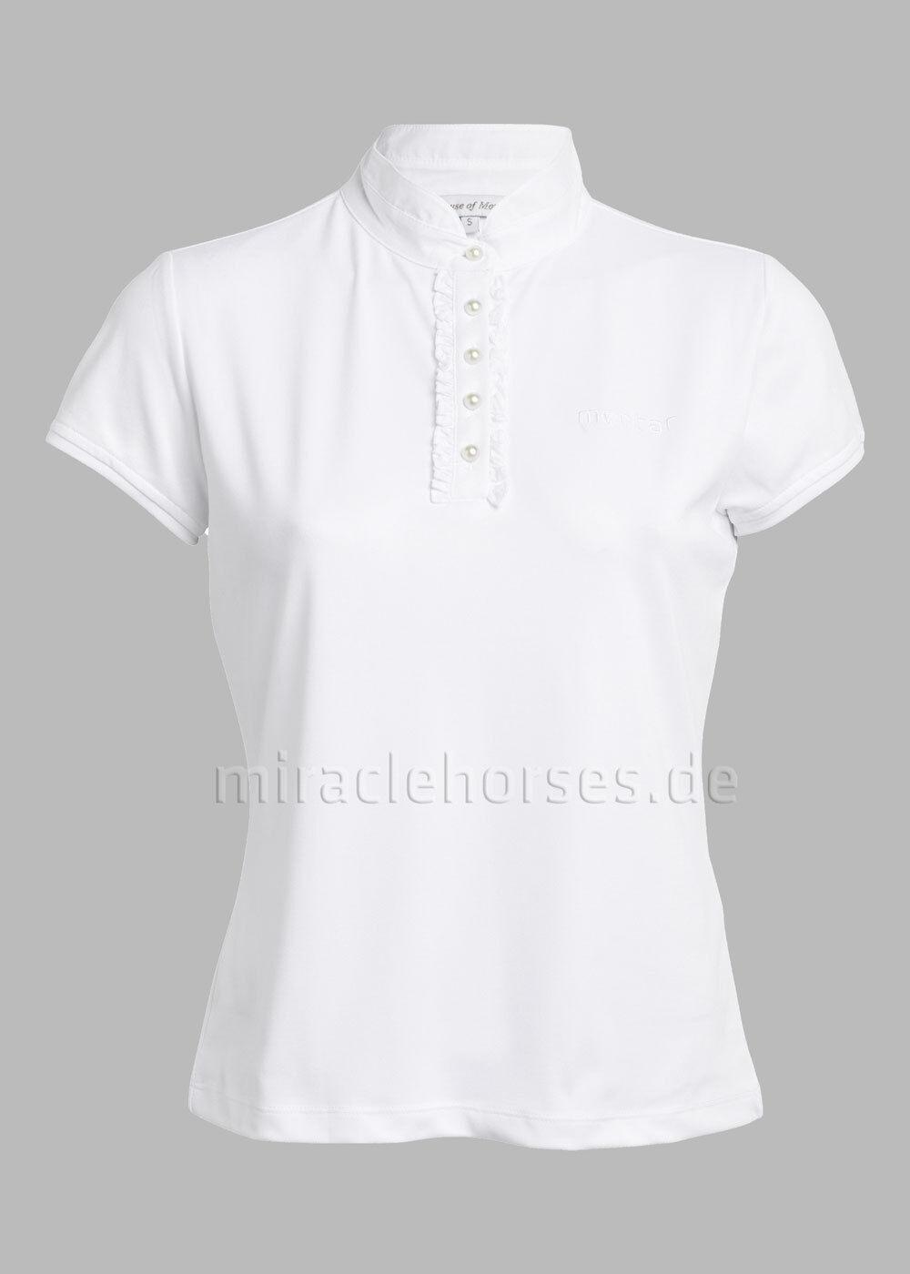 Montar® Damen Turniershirt Weiß weiß  Gr. S S S b36801