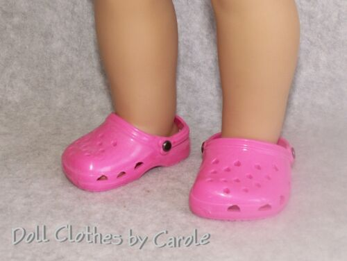 "Assorted Krocs Clogs Sandals fit 18/"" American Girl Size Doll"