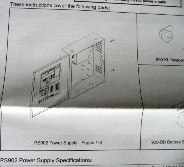 schlage allegion ps902 power supply 2a 4448947 ebay rh ebay com
