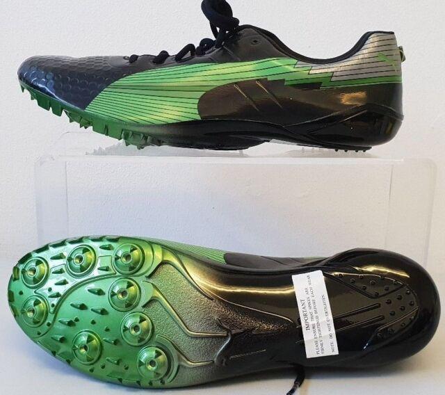 chaussures de sport d729d 6fa86 PUMA Usain Bolt Running Spikes UK 9 Shoes evoSPEED Sprint T172