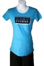 "NEW ""Baby Booming"" Maternity T-Shirt size Medium 8 10"