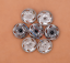 10X-Bohemian-3D-Flower-Turquoise-Conchos-For-Leather-Craft-Keychian-Wallet-Decor miniatuur 35