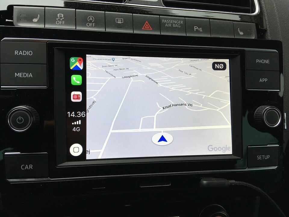 Multimedia system, VW Apple CarPlay - Mirrorlink