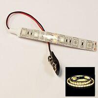 Dolls House Rc War Games Led Strip Lights 5050 9v Battery Cool / Warm White