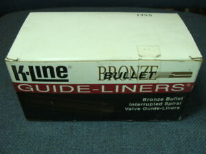 Details about K-Line Bronze Bullet Guide Liners Qty 100 (2 5