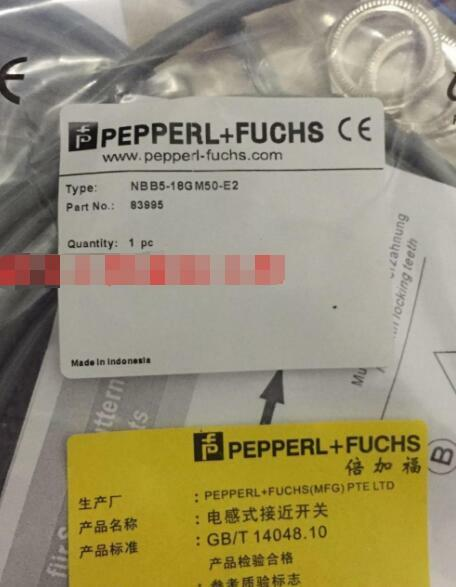 1Pcs New Pepperl+Fuchs Proximity Switch NBN12-18GM50-E2 free shipping