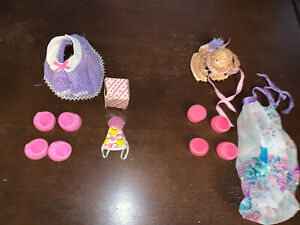 Vintage-1980s-G1-My-Little-Pony-Party-Time-amp-The-Tea-Party-Outfits-By-Hasbro