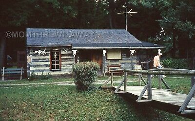 1990 COLOR SLIDE 1418 Ohio Findlay Ghost Town Galitza's 5 ...