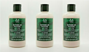 NEW-LOT-OF-3-THE-BODY-SHOP-WATERMELON-FULL-SIZE-BODY-LOTION-8-4-OZ-EA-FREE-SHIP