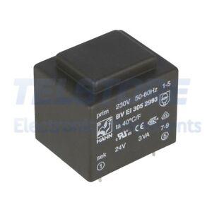 1pcs  Trasformatore incapsulato 6VA 230VAC 18V 18V Montaggio PCB TELSTORE
