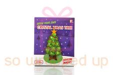 CRYSTAL MAGIC CHRISTMAS TREE TOY BOY GIRL GROWING FUN XMAS GIFT STOCKING FILLER