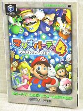 MARIO PARTY 4 Official Guide Game Cube Book SG03*