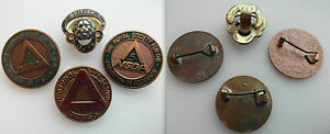 Vintage-Collectable-Group-of-badges-x-3-Safe-Driving-1-British-Legion