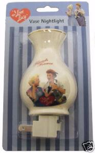I Love Lucy Friends Forever Ceramic Vase Night Light - Now Retired Memorabilia!