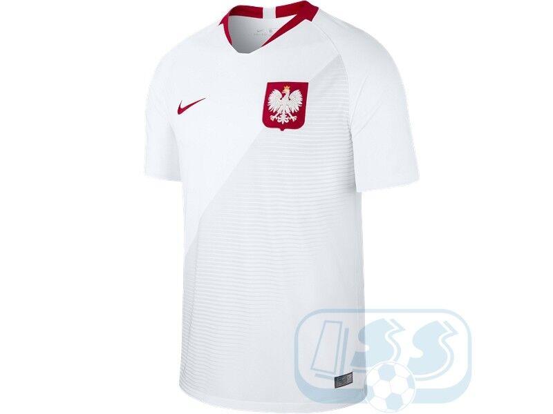 RPOL18  Nike Pologne Maillot Domicile Coupe du Monde 2018 Russie