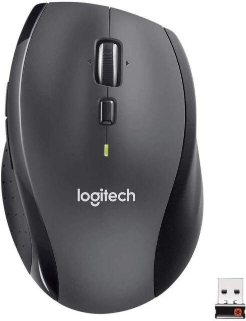 Logitech M705 Marathon sans Fil Souris, 2.4 GHZ Connexion Unificateur - Noir