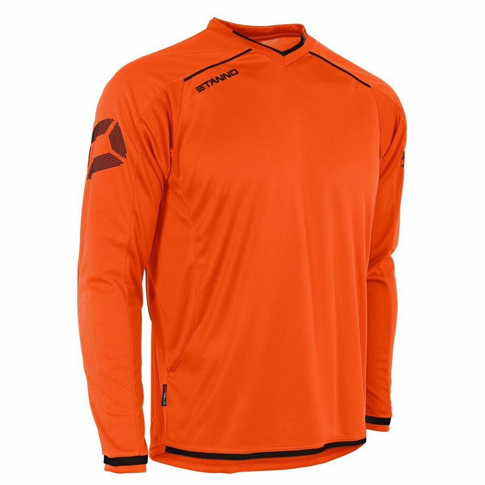 Franc Stanno-furura à Manches Longues Orange Shirt Prix De Rue