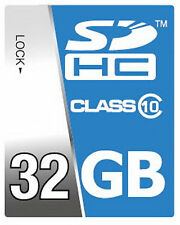 32GB SDHC High Speed Class 10 Speicherkarte für Nikon Coolpix P600 Kamera