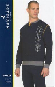 Pajamas Seraph Men/'s Long Sleeve Warm Cotton Interlock Navigare Art 140927