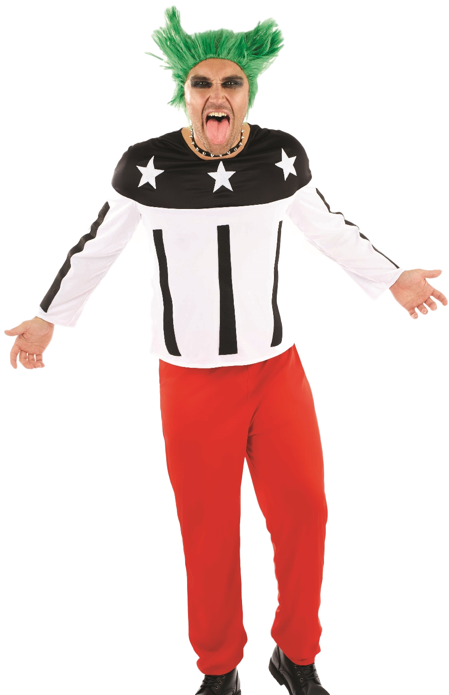 Herren 1990 90s Jahre Music Music Music prominent berühmt Person Kostüm Kleid Outfit M L XL | Kompletter Spezifikationsbereich  396edf