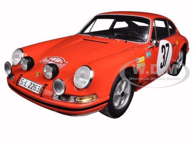 1969 PORSCHE 911 S MONTE bilLO rally WINER WALDEGAARD 1  18 AV SPARK 18S080