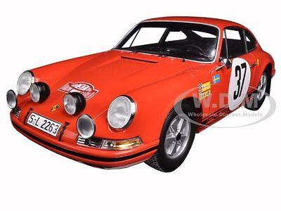 1969 PORSCHE 911 S  #37 MONTE CARLO RALLY WINNER WALDEGAARD 1//18 BY SPARK 18S080