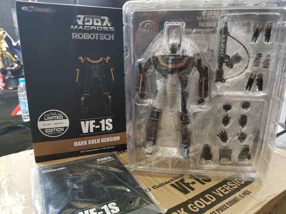 KC Collectible 918  Valkyrie  MACROSS 1 72 VF-1S Robotech Limited cifra  vendite dirette della fabbrica