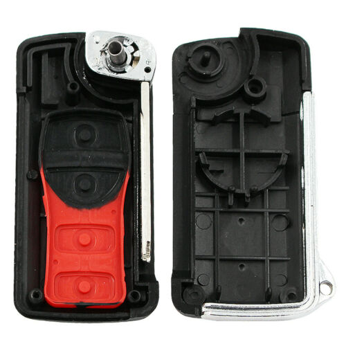 For  Nissan Armada 350Z Altima Maxima 4 Buttons Flip Smart Key Case Shell Fob